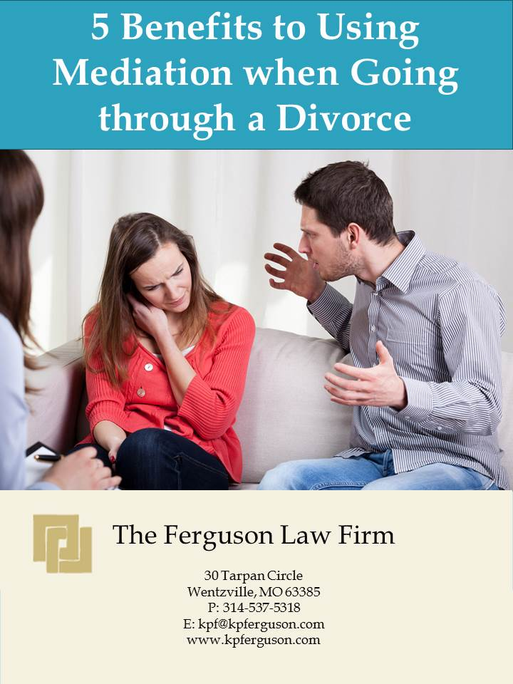 Download Ebook:  5 Beneffits to Using Mediation when Going through a Divorce
