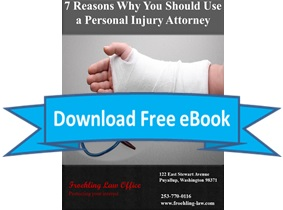 Download eBook:  7 Reasons Why You Should Use a Personal Injury Attorney