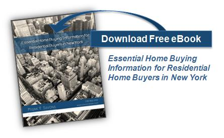 "Download Ebook: ""Essential Home Buying Information for Residential Home Buyers in New York"" by Frank V. Savona, Esq."
