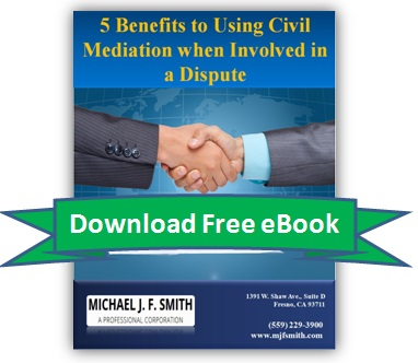 Download Ebook: 5 Benefits to Using Civil Mediation when involved in a Dispute