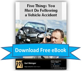 Download Ebook:  Five Things You Must Do Following a Vehicle Accident