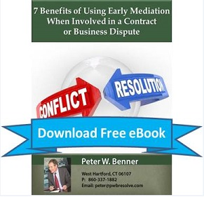 Download Ebook:  7 Benefits of Using Early Mediation When Involved in a Contract or Business Dispute