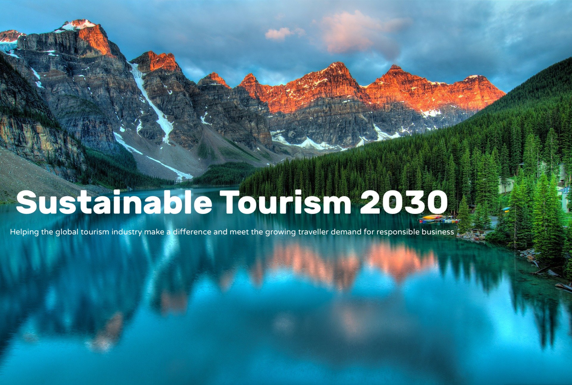 Sustainable Tourism 2030