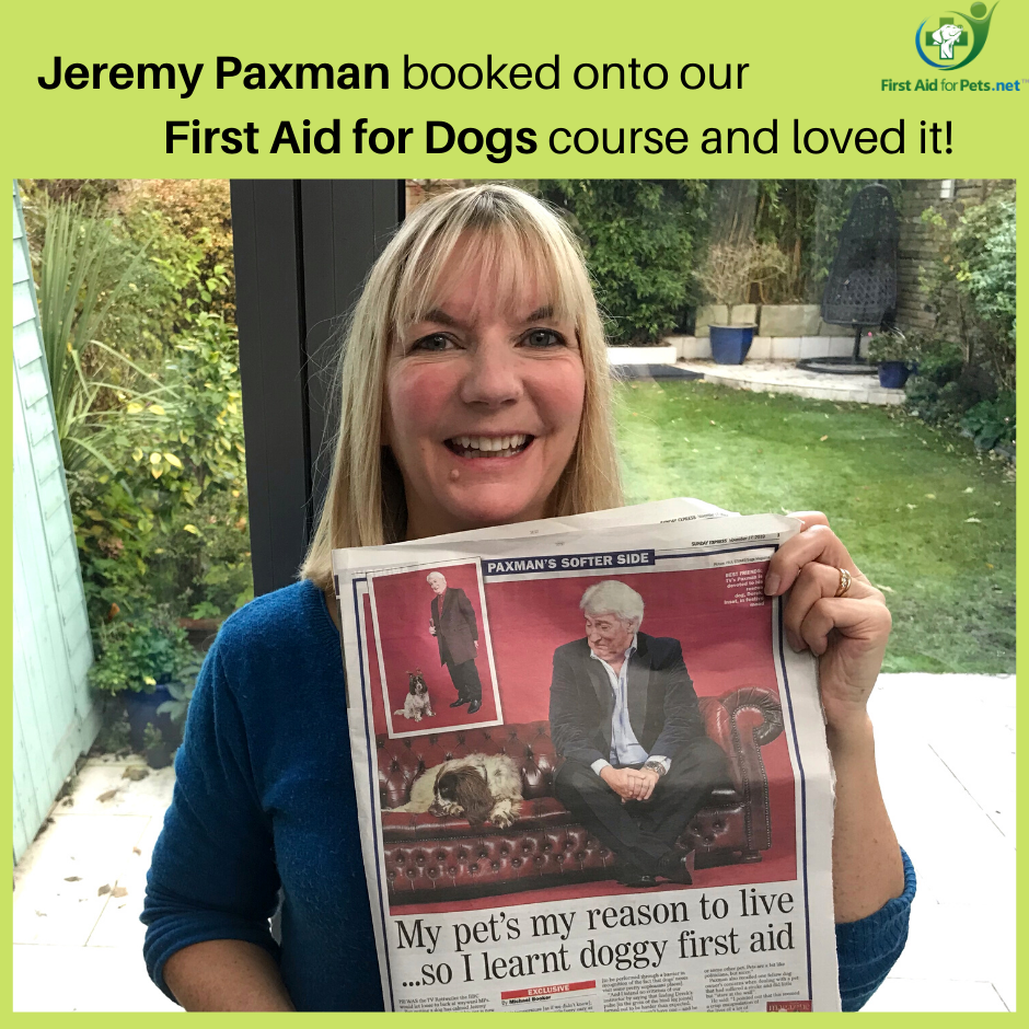 Jeremy Paxman First Aid