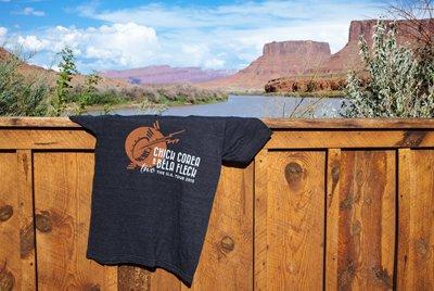 Tour t-shirt in Moab, UT