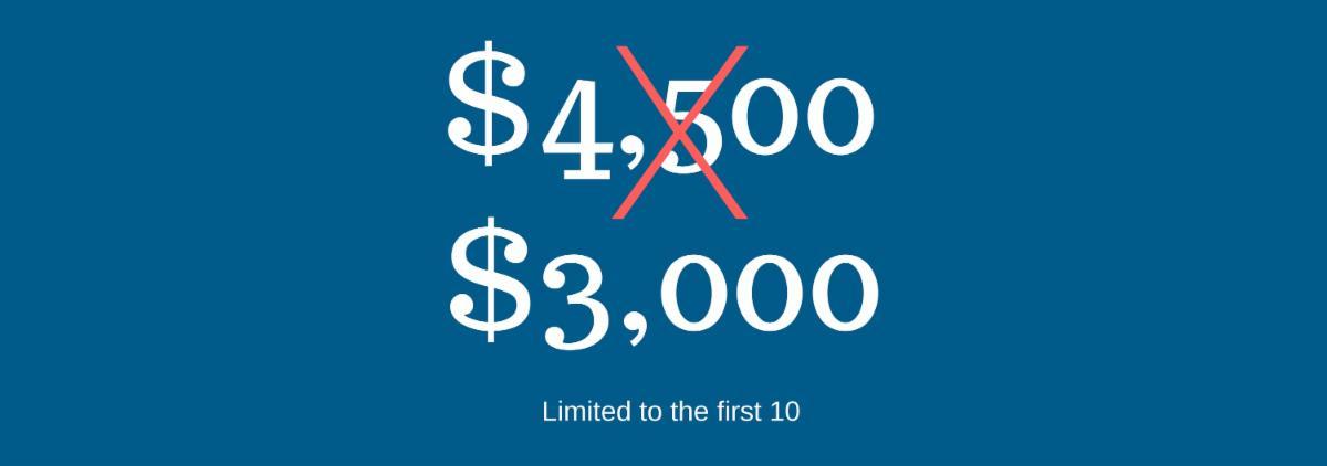$3,000