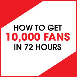 Get 10,000 Facebook Fans In 72 Hours