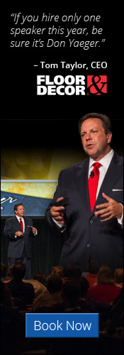 Find out how you can have Don Yaeger speak at your next event!