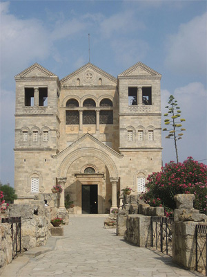 Basilica of the Transfiguration in Israel