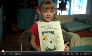 First Communion Banner Video