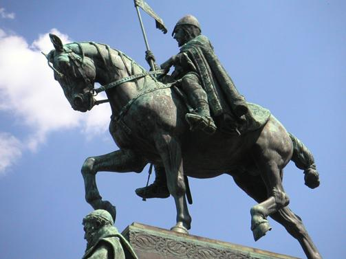 King Wenceslaus statue