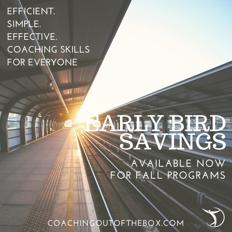 Early Bird Savings fall