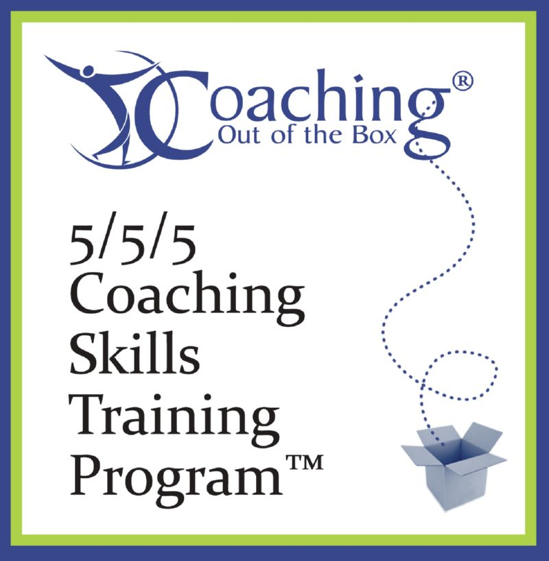 5/5/5 Coaching Skills Training Program TM