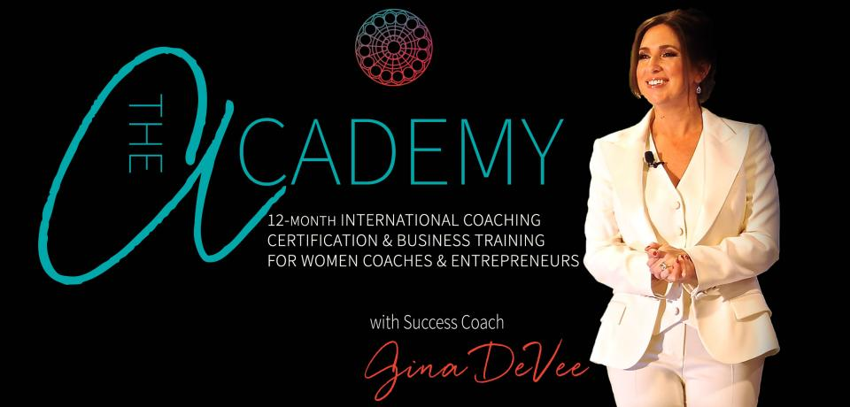 The Academy  - Our signature 12 month coaching certification and business training