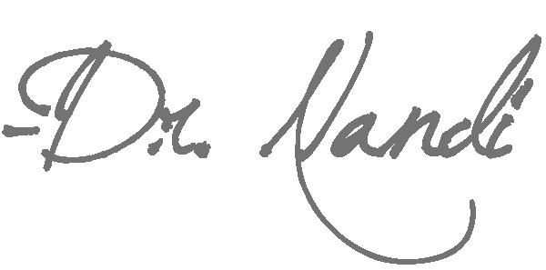 Dr. Nandi Signature