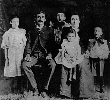 Andelman family, Grandma sitting on lap