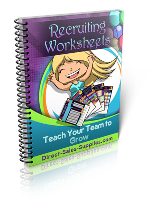 Click here for Recruiting Worksheets