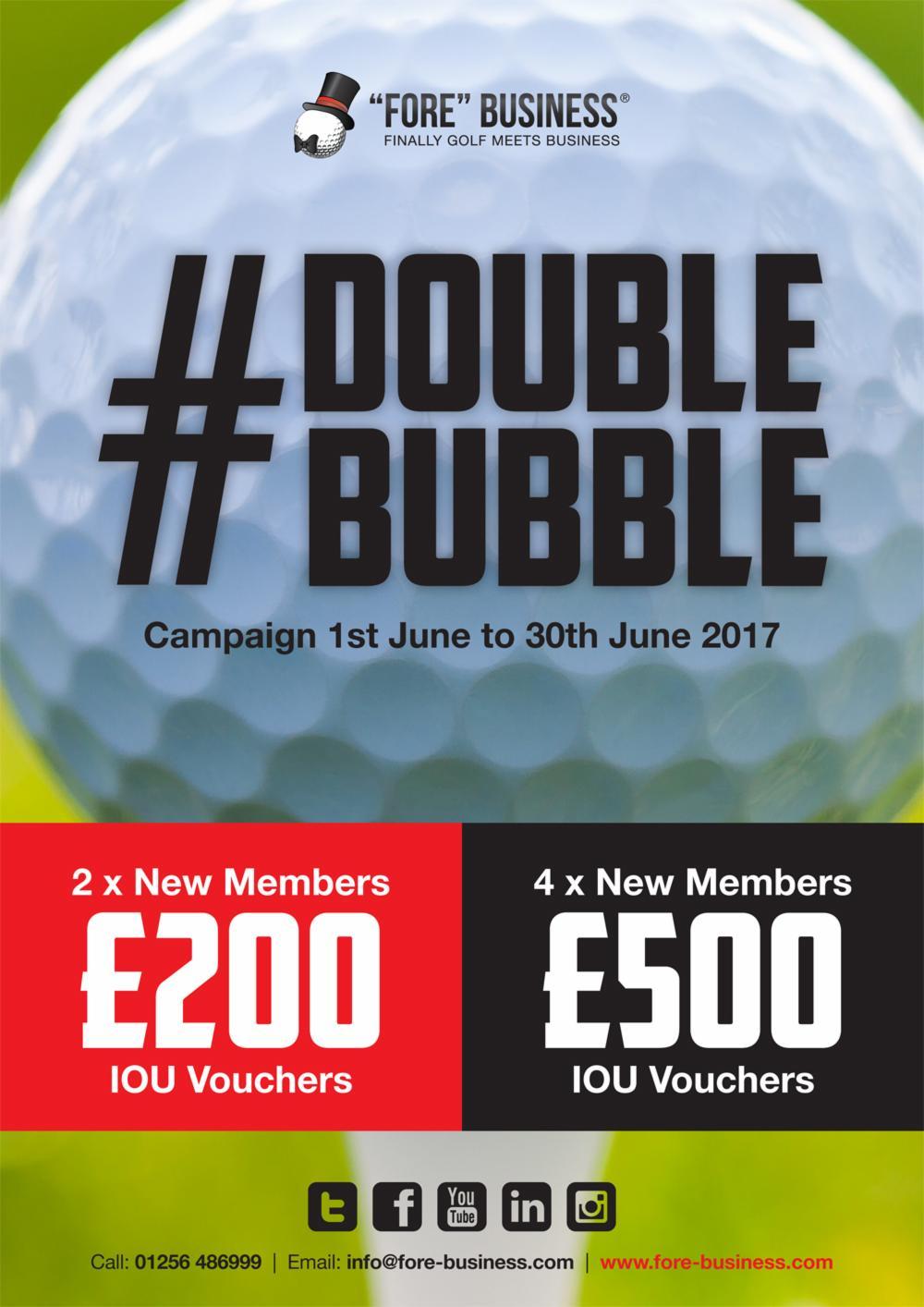 Double Bubble Poster