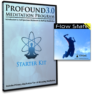 Become A Conscious Participant In Evolving Yourself & Your Amazing Brain... Profound Meditation Program!: Flow State