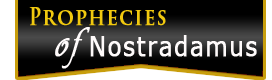 Prophecies of nostradamus logo